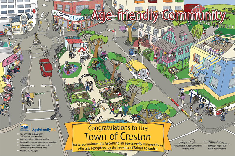 Creston BC Age-Friendly Community Recognition Award