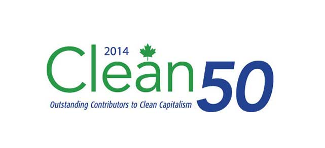 Recognized as a sustainability champion in 2014