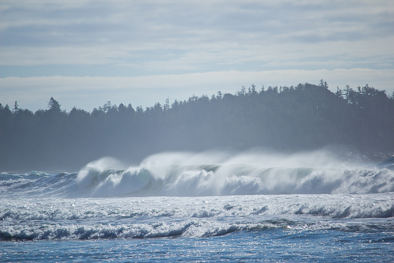 Crashing Waves in BC