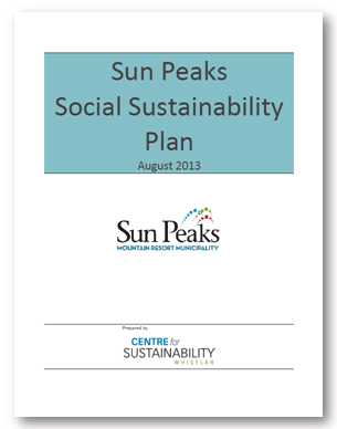 Sun Peaks Social Sustainability Plan