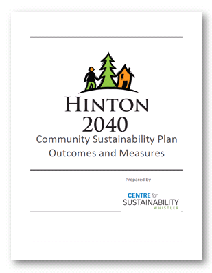 Hinton 2040 Community Sustainability Plan Outcomes and Measures Report