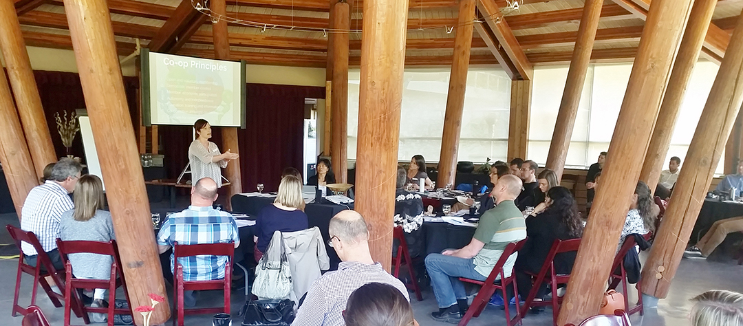 Social Ventures event in Whistler, BC