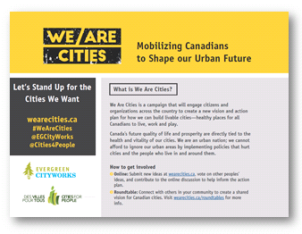 We Are Cities Logo