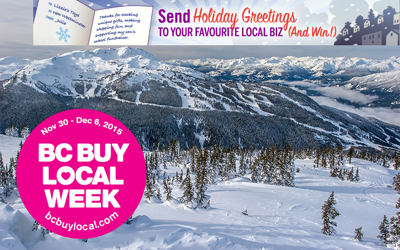 BC Buy Local Week Nov 30 – Dec 6, 2015